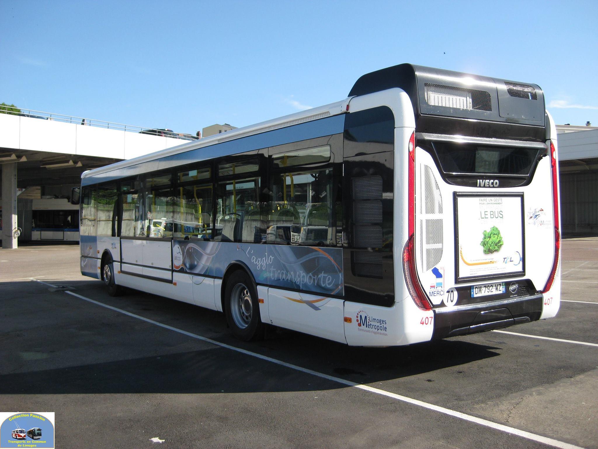 Urbanway - Ligne bus limoges ...